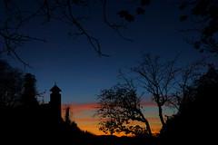 Before the night comes ©twe2017☼ (theWolfsEye☼) Tags: thewolfseye schweiz switzerland castleruin schlossruine birseck ermitage arlesheim baselland gegenlicht backlight sonnenuntergang sunset evening abend silhoutte umriss ruinebirseck