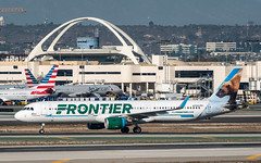 Frontier Airlines N713FR plb19-02859 (andreas_muhl) Tags: a321 airbusa321211wl flugzeug frontier frontierairlines klax lax losangeles mitchthewolverine n713fr aircraft airplane aviation planespotter planespotting
