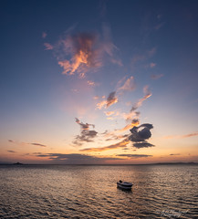 Empyreal (Through_Urizen) Tags: boatship category erdek hdr kapidag panorama places seascape sunset transport turkey sky clouds colours sea water coast coastline boat dusk evening canon1585mm canon70d canon