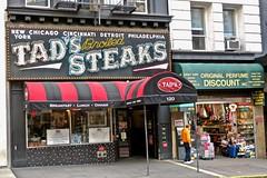 Tad's Steaks, San Francisco, CA (Robby Virus) Tags: sanfrancisco california ca sf tads steaks bulbs sign signage restaurant steakhouse food closed facade