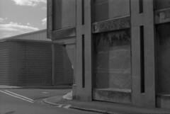 ARCHIVE: Geelong November 1980 (i_shudder) Tags: geelong australia warehouses bleak minimal composition abstractblackwhite history archive dennys