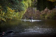 Basingstoke Canal Ash - Ash Vale 3 November 2019 005 (paul_appleyard) Tags: basingstoke canal ash vale canoe november 2019