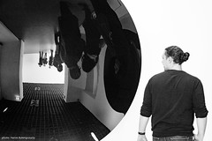 Exhibition DYNAMO - Anish Kapoor : Untitled 2008 (hervedulongcourty) Tags: photo france exhibition art sony anishkapoor grandpalais paris kamelmennour nb exposition sonynex7 expositiondynamo monochrome artist photography blackandwhite nex7 contemporaryart bw europe noiretblanc artcontemporain