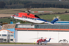 S-92A (Paul Beale Photography) Tags: b3alie aberdeen aircraft airfield airport aviation beale canon chc emailpaulpaulbealephotographycom gwnst helibus oil paul photography rig s92 s92a scotia scotland sikorsky transport wnst wwwpaulbealephotographycom ©paulbealephotography