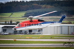 S-92A (Paul Beale Photography) Tags: b3alie aberdeen aircraft airfield airport aviation beale canon chc emailpaulpaulbealephotographycom gwnsl helibus ltd oil paul photography rig s92 s92a scotia scotland sikorsky transport wwwpaulbealephotographycom ©paulbealephotography
