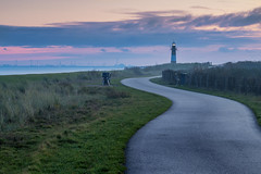 Pathway to the lighthouse (In Flanders Fields Photography) Tags: lighthouse architecture seascape sea grass breskens path pathway clouds golden hour nature landscape scenic