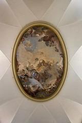 IMGP4370 (hlavaty85) Tags: venice venezia benátky pietá santa maria visitazione navštívení panny marie kostel church chiesa ceiling strop painting obraz