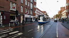 Even terug in de Eef (Peter ( phonepics only) Eijkman) Tags: amsterdam city combino gvb tram transport trams tramtracks trolley detour omleiding rail rails strassenbahn streetcars nederland netherlands nederlandse noordholland holland