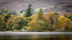 The Boathouse (Glenn.B) Tags: conistonlake lakedistrict landscape cumbria water countryside boathouse trees autumncolour