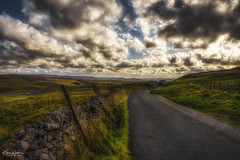 The road is all yours (Kev Walker ¦ Thank You 4 Comments n Faves) Tags: yorkshire landscape england uk moors north sky nature countryside heather national summer rural park cloud outdoors moorland sunset english trees scenic europe travel york scenery blue sunny pink green field northyorkshire britain tourism bloom purple farm fields view sunlight autumn beautiful rock stone british day outdoor sun tourist train farmland