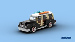 Woodie Wagon (Rolling bricks) Tags: woodie wagon speed champions classic vehicle vintage car city minifig minifigure minifigures oldtimer old sports music