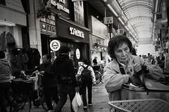 Tokyo street (harumichi otani) Tags: bw blackandwhite bwphotography streetphotography street streetphoto streetshooting monochrome tokyo