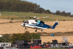 S-92A (Paul Beale Photography) Tags: b3alie aberdeen aircraft airfield airport aviation beale canon emailpaulpaulbealephotographycom gckxl helibus helicopter oil paul photography rig s92 scotland sikorsky transport wwwpaulbealephotographycom ©paulbealephotography