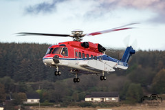 S-92A (Paul Beale Photography) Tags: aircraft aberdeen b3alie canon paul photography airport aviation oil ltd chc airfield beale helibus gwnsl emailpaulpaulbealephotographycom scotland transport rig scotia sikorsky s92 s92a wwwpaulbealephotographycom ©paulbealephotography
