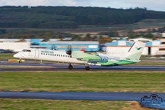 Dash 8 (Paul Beale Photography) Tags: 8 b3alie aberdeen aircraft airfield airliner airport aviation beale bombardier canon dash dhc emailpaulpaulbealephotographycom lnwdh passenger paul photography q400 scotland wideroe wwwpaulbealephotographycom ©paulbealephotography