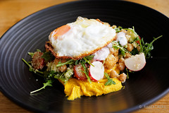 20191104-05-Chickpea and pumpkin hummus salad at Ginger Brown in Hobart (Roger T Wong) Tags: 2019 australia gingerbrown hobart metabones rogertwong sigma50macro sigma50mmf28exdgmacro smartadapter sonya7iii sonyalpha7iii sonyilce7m3 tasmania cafe chickpea couscous egg food hummus lunch pumpkin