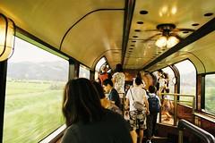 The panorama lounge car (しまむー) Tags: pentax mz3 smc a 28mm f28 kodak gold 200 北海道&東日本パス 普通列車 local train trip east japan