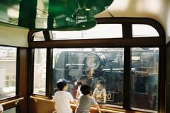 きかんしゃ、すげー (しまむー) Tags: pentax mz3 smc a 28mm f28 kodak gold 200 北海道&東日本パス 普通列車 local train trip east japan