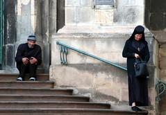The Beggar And The Nun (Alan1954) Tags: ukraine nun beggar holiday 2019 lviv