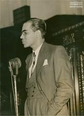 Josué de Castro durante conferência realizada no Palácio Tiradentes, Rio de Janeiro, em julho de 1940 (Arquivo Nacional do Brasil) Tags: josuédecastro fome político arquivonacional arquivonacionaldobrasil nationalarchivesofbrazil nationalarchives