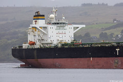 The Maltese registered crude oil tanker Euronike, IMO 9299678; Loch Long, Firth of Clyde, Scotland (Michael Leek Photography) Tags: ship oilindustry oiltankers oiltanker crudeoiltanker lochlong clyde firthofclyde cowal cowalpeninsula blairmore argyllandbute argyll vessel workingboat merchantship merchantvessel scotland scottishlandscapes scottishcoastline scotlandslandscapes scottishshipping michaelleek michaelleekphotography