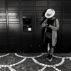 Circles ( serie black texture ) (Jean-Marc Vernier) Tags: noiretblanc blackandwhite bnw street streetview streetphotography urban city fujifilm fujixt20