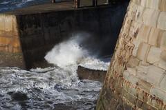 rough-seas3 (jean.nesbitt) Tags: whitby steampunk events coast yorkshire harbour sea waves lighthouse