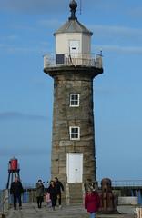 lighthouse (jean.nesbitt) Tags: whitby steampunk events coast yorkshire harbour sea waves lighthouse