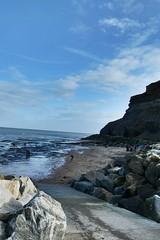 coastline (jean.nesbitt) Tags: whitby steampunk events coast yorkshire harbour sea waves lighthouse