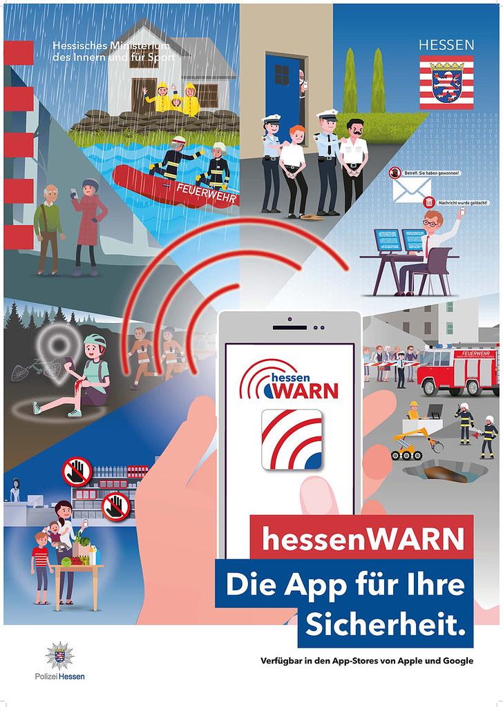 hessen warn app installieren