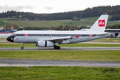 A319-131 (Paul Beale Photography) Tags: 100 b3alie a319 aberdeen airbus aircraft airfield airliner airport airways aviation bae beale british canon emailpaulpaulbealephotographycom eupj geupj livery paul photography retro scotland special wwwpaulbealephotographycom yrears ©paulbealephotography