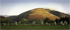 Dawn at Castlerigg (Charles Connor) Tags: castleriggstandingstones castlerigg lakedistrict cumbria ancientmonuments stones landscapephotography landscape autumncolours autumn earlymorning earlymorninglight mountains blencathra charlesconnor canondslr