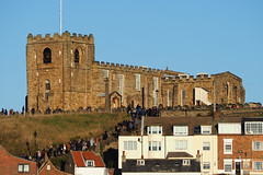 the99steps (jean.nesbitt) Tags: whitby steampunk events coast yorkshire harbour sea waves lighthouse