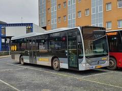 NLD Qbuzz 3309 ● Groningen Busstation (Roderik-D) Tags: qbuzz31003301 3309 bxlh46 qbuzz33023326 2010 dieselbus euro5 mercedesbenz citaro2 o530ü savas bege überlandbus streekbus 2axle 2doors