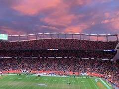 November 3, 2019 - A beautiful view and a Broncos victory. (Jason Staudinger)