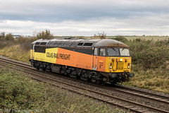 66105 at Abbotswood [0Z56] 05.11.2019 (Wolfie2man) Tags: class56 grid trains britishrail abbotswood colas diesellocomotive canonphotography 56105 freightengine colasrail 0z56 worcestershirerailways colasrailfreight abbotswoodjunction sigma35mmf14art