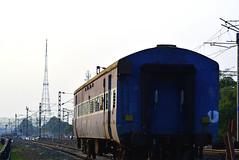 A dilapidated railway coach (SHAN DUTTA) Tags: railwaylines railway coach kharagpur india 2019 nikond5300 hijli dilapidated abandoned