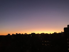 November sunset over Georgetown, from 2500 Q Street NW, Washington, D.C. (Paul McClure DC) Tags: washingtondc districtofcolumbia nov2019 sunset sky architecture georgetown