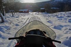 skutertur i nabolaget (KvikneFoto) Tags: nikon1j2 vinter winter snø snow lynx snøskuter snowmobile