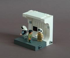 Tantive IV corridor (Sydag) Tags: lego moc starwars tantiveiv blockaderunner anewhope organa antilles ot space scifi rebels alliance senator