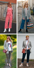 4 Ways to Wear a Prince of Wales Check Blazer in Autumn/Winter | Not Dressed As Lamb, Over 40 Fashion and Style (Not Dressed As Lamb) Tags: prince wales blazer ways wear ootd outfit fashion style autumn winter