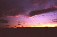 sunset mt victoria122 (louieblondet) Tags: film photography analog grain new zealand kodak gold 200 olympus af1 sunset