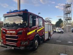 "New Scania (Flikrman Gaz) Tags: ""firetruck"" ""fireengine"" red scania"