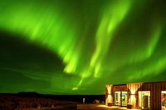 s 20192410_Gullfoss Shop with Aurora_DSC_0762 (Andrew JK Tan) Tags: nikonz7 iceland gullfoss auroraborealis northernlights
