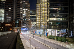 Change of Plans (TVZ Photography) Tags: hdr highdynamicrange offices barbican cityoflondon centrallondon england street road architecture buildings city night evening lowlight longexposure sonya7riii zeiss loxia 21mm