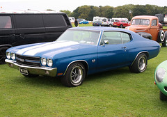 1970 Chevrolet Chevelle SS (FWE 202H) 7400cc - Sywell Classic 2018 - Northampton (anorakin) Tags: 1970 chevrolet chevelle ss fwe202h 7400cc sywellclassic 2018 northampton