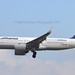 Lufthansa D-AINB Airbus A320-271N cn/6864 sticker
