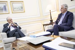 Rui Rio recebe Michel Barnier