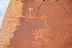 The Maze (W9JIM) Tags: petroglyphs rockart 24105l vermillioncliffsnationalmonument 5d4 w9jim canoneos5dmarkiv ef24105mmf4lisusm themaze twoheadedsnake 105mm houserockroad