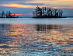 fading autumn sun (marianna armata) Tags: autumn fall sun sunlight sunset dusk trees island quebec montreal canada water reflection landscape mariannaarmata